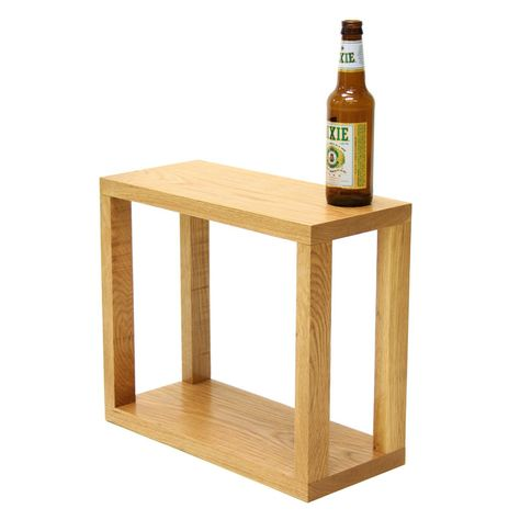 Wintercheck Factory Small Utility Table Zebulon Wine Rack Small