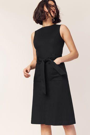 special sales unique design united states Oasis, HIGH NECK MIDI DRESS Black | Dresses, Black midi dress ...