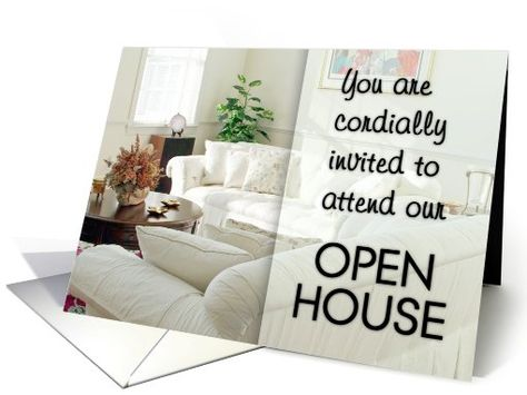 Invitations open house graduates on pinterest for Party house for sale