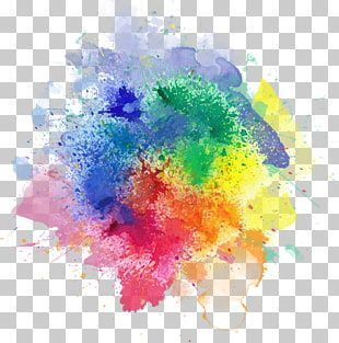 Color Smoke Computer Icons Color Splash Abstract Painting Png Clipart Rainbow Drawing Color Splash Color Splash Effect