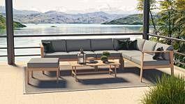 Salon De Jardin En Eucalyptus Mauritio Artelia France En 2020 Toit En Verre Mobilier De Salon Salon De Jardin