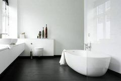Badezimmer Schwarzer Boden Mit Bildern Badezimmer Schwarz