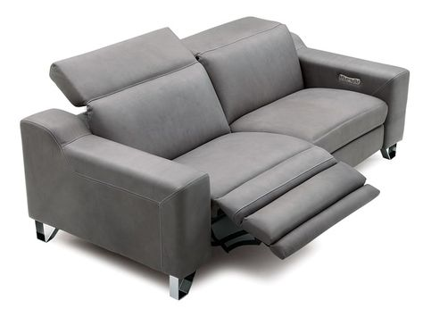 Baily Reclining Leather Sofa Leather Reclining Sofa White