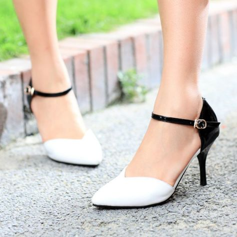 free shipping women pumps hot-selling summer new white pointed high-heeled  European and American fine with Roman sandals women  29.90 a6fa179e0e84