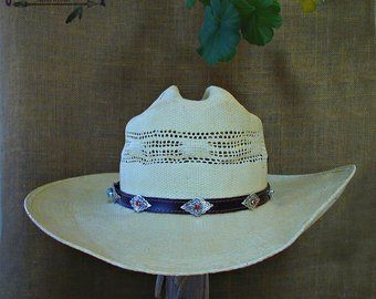Items similar to Cowgirl hat Cowboy hatband Cowgirl