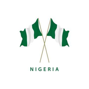 Nigeria Flag Vector Template Design Illustration Flag Icons Template Icons Flag Png And Vector With Transparent Background For Free Download Flag Vector Flag Icon Illustration Design