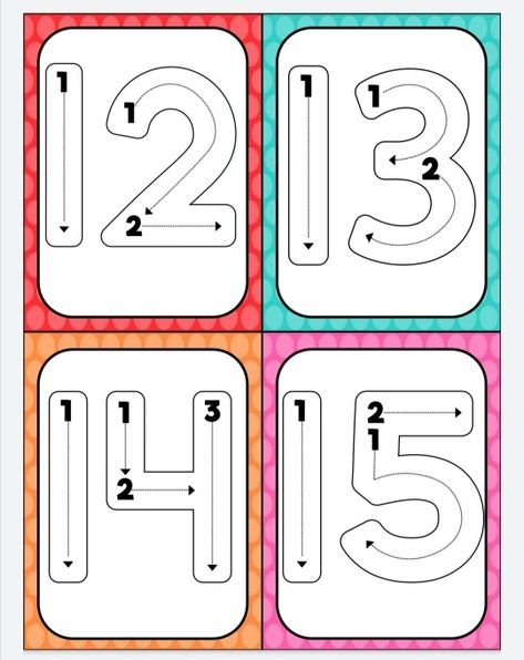 160 Ideas De Números 1 Al 30 Números Preescolar Preescolar Matemáticas Para Niños