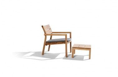 Kos Teak Tribu Chair Easy Chair Teak Outdoor Furniture