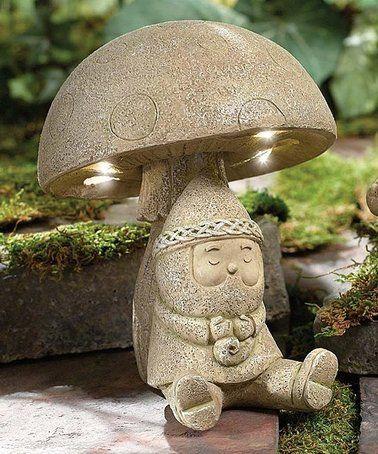 Love This Celtic Light Up Gnome On Zulily Zulilyfinds Gnomes Dream Garden Backyards Charming Garden