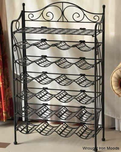 25 Best Wrought Iron Wine Rack Images Wine Collection Iron Wine