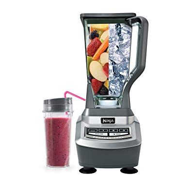 Ninja Professional Countertop Blender With 1100 Watt Base