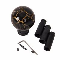 Thruifo MT Gear Stick Shifter Knob Lucky Gold Eastern Shape Car Shift Head Fit Most Automatic Manual Vehicles