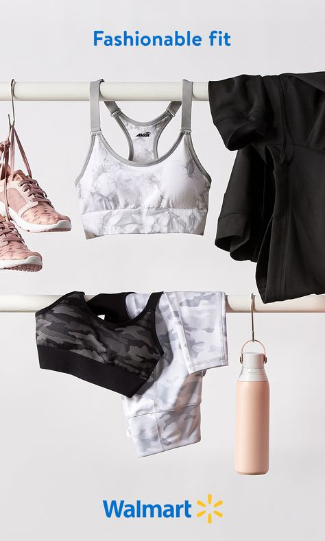 Working on a new you in the new year? Walmart has stylish activewear for women at affordable prices. Shop online or in-store for all your fitness fashion needs including leggings, bike shorts, sports bras, running shoes, accessories,  more.