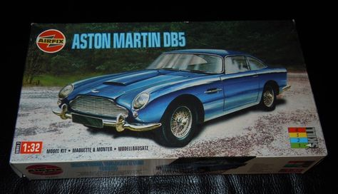 A50089 Airfix Aston Martin DB5 Starter Set 1:32 | Airfix Plastic Kits |  Pinterest | Aston Martin And Starters