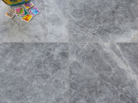 Silver Dark Marble - Polished - Stone Deals