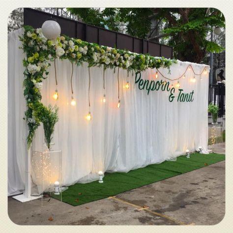 Wedding Decoration www.siamcivilize.com LineID: siamcivilize Tel: 0869961208 IG: SiamcivilizeLightingDe... #weddingdecor #wedding #decor #stage