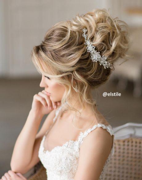 Elstile Messy Wedding Updo Hairstyle