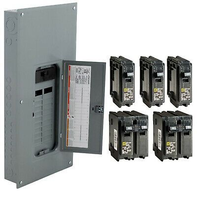 Ge Powermark Gold 200 Amp 8 Space 16 Circuit Outdoor Main Breaker Circuit Breaker Panel Tm820rcuflp Outdoor Box Maine Breaker Box