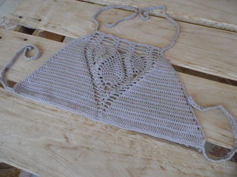 FREE SHIPPING Crochet Halter top Crochet by LOVEKNITCROCHET