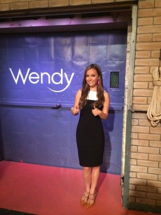 Getting ready for Trendy @ Wendy