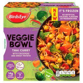 Birds Eye Veggie Bowl Thai Curry With Chickpeas And Sweet Potato