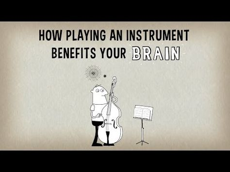"""""""Playing an instrument sets the brain alight and engages practically every area of the brain at once."""""""