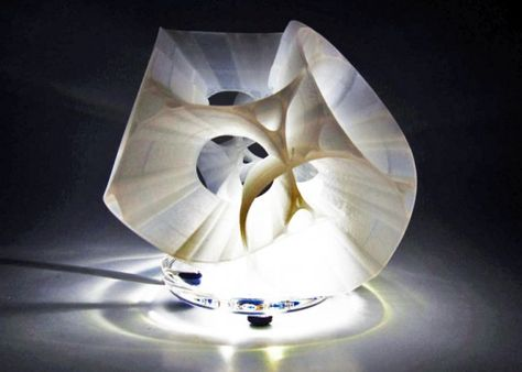 3D-Printed Levitating LED Lamp