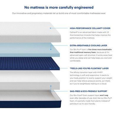 Amerisleep As3 Medium Blended Firm Soft Memory Foam Luxury Bed Mattress King Foam Mattress Bed Firm Memory Foam Mattress Foam Mattress