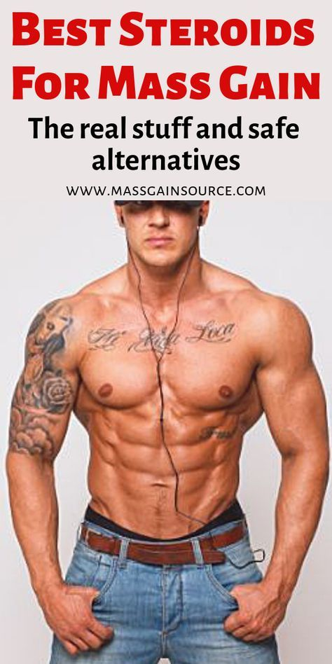 5 Best Steroids For Mass: Use The Right Cycle To Increase