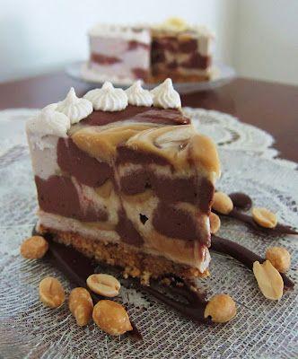 Vegan Peanut Butter Chocolate Banana Cheesecake