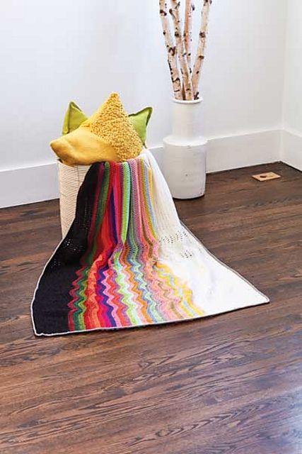 Layered Waves | Pattern, Blanket, Crochet blanket