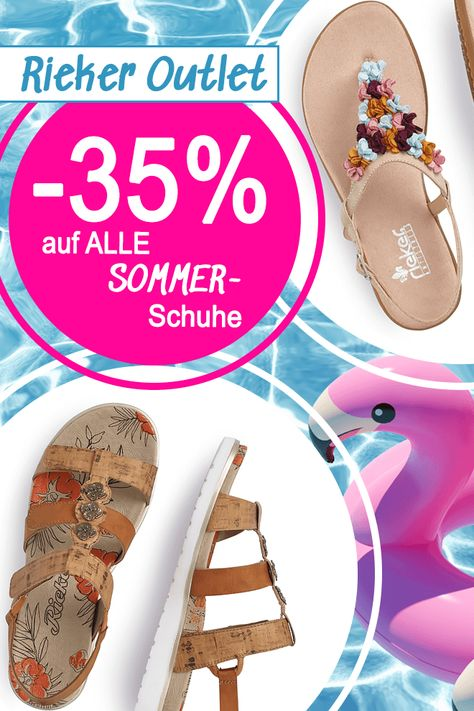 ???? RIEKER OUTLET SOMMER SALE ‼️ 35% Rabatt auf alle