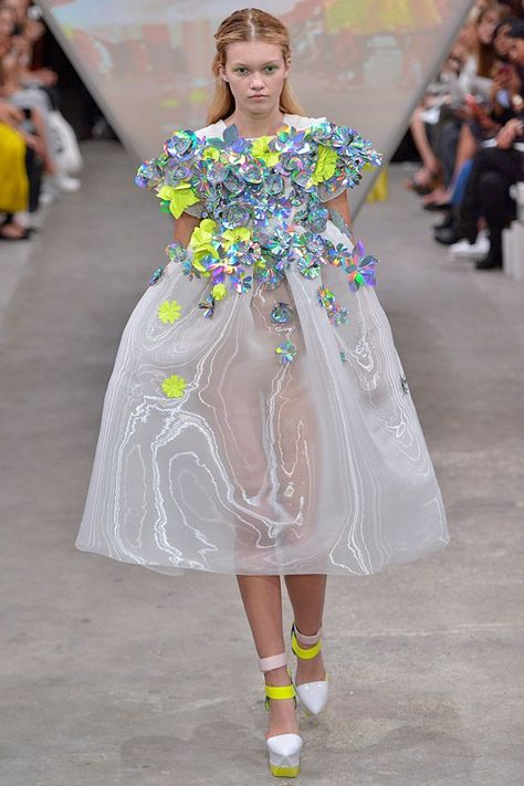 Catwalk photos and all the looks from Fyodor Golan Spring/Summer 2015 Ready-To-Wear London Fashion Week