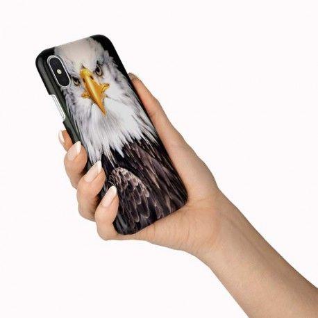 Coque de telephone iPhone X, XR Aigle Royal. En gel de silicone ...