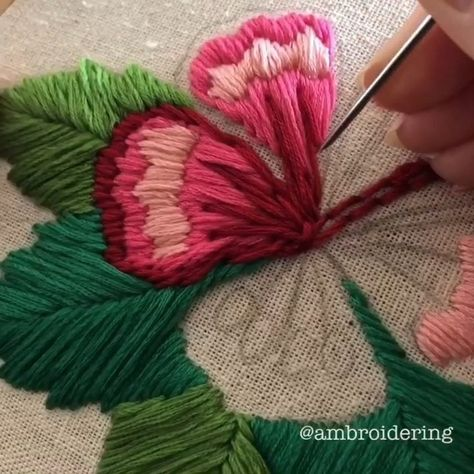 Speedy stitching 🌺🌺🌺 ⠀⠀⠀⠀⠀⠀⠀⠀⠀ Needles will be on my shop any day now! The needles themselves have arrived but I'm waiting on some…