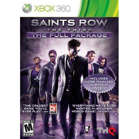 Thq 55505 Saints Row The Third Full X360, Multicolor