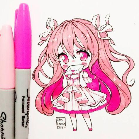 pink #kawaii #chibi #pink