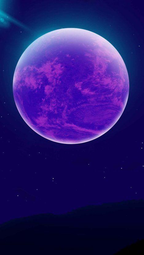 Purple Moon Iphone Wallpaper Hd Dark Wallpapers Samsung Wallpaper Iphone Wallpaper Hipster