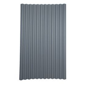 Ondura 79 In Gray Corrugated Cellulose Fiber Asphalt Roof Panel For Coop Exterior And Roof 20 99 Flatroof Roof Panels Corrugated Roofing Metal Roof Panels