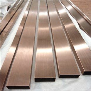 Hot Item Stainless Steel U Trim Hairline Rose Gold Color Metal Sheet Trim For Wall Cladding Panel Gold Trim Walls Wall Cladding Panels Wall Cladding