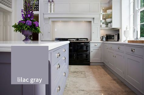 Kitchen Cabinets Painted Purple Grey For 2019 In 2020 Purple