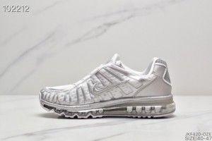 Peregrinación lengua Desilusión  Nike Air Max 2017 + Shox TL White Silver Men's Trainers | Mens nike shox,  Running sport shoes, Red nike