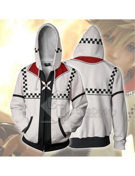 Devil May Cry V 5 Vergil Cosplay Hoodie Hooded Sportwear Print Jacket Costume