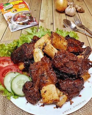 Iga Bakar Saus Madu Resep Sayap Ayam Resep Masakan Resep Makanan Asia