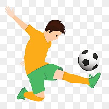 Nino Jugador De Futbol Y Futbol Patea La Pelota Imagenes Predisenadas De Jugador De Futbol Atleta Atletas Png Y Vector Para Descargar Gratis Pngtree Balones De Futbol Dibujo Jugador De