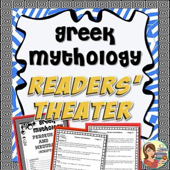 Greek Mythology Readers Theater Scripts Stories Google Slides Readers Theater Scripts Readers Theater Greek Mythology
