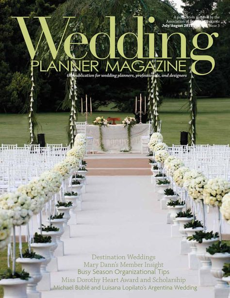 Wedding Planner Magazine Volume 1 Issue 3 Planners Planneragazines
