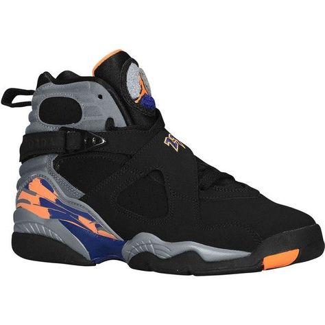 24434c0c930d92 Jordan Retro 8 Boys Grade School ( 115) ❤ liked on Polyvore featuring shoes