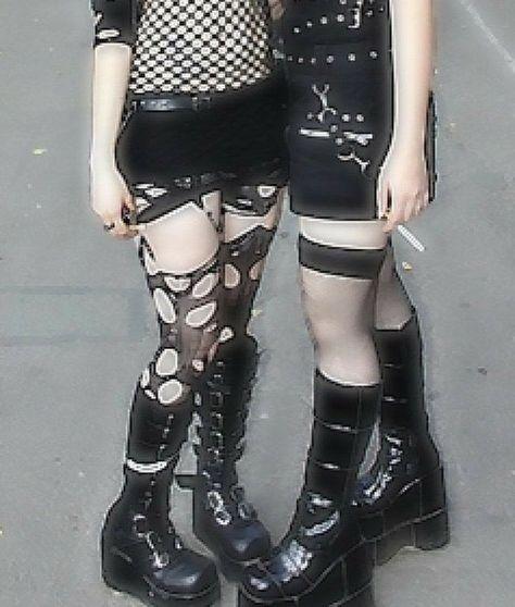 Alternative Outfits, Alternative Mode, Alternative Fashion, Edgy Outfits, Grunge Outfits, Mode Outfits, Fashion Outfits, Grunge Look, Grunge Style