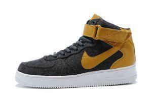 sports shoes aa862 f81d0 NIKE AF1 ULTRA FLYKNIT MID 817419-010 BlackDark Gray  Nike Air Force 1   Nike, Nike af1, Sneakers nike